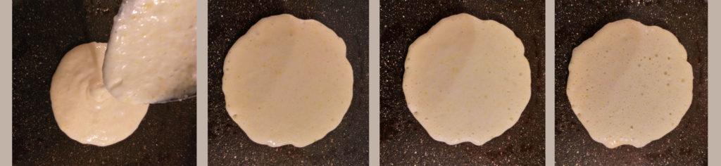 Pancake - cottura
